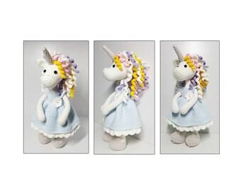 amigurumi,crochet pattern Unicorn