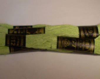 SKEIN NO. 612 GT LIME GREEN DARK MOULINE 8 M