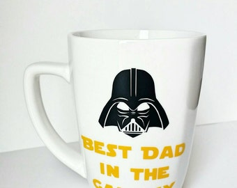 Star wars mug - Star wars gift - Star wars glasses - Best Dad mug - Best Dad Ever - Darth Vader mug - Darth Vader - Star wars coffee mug