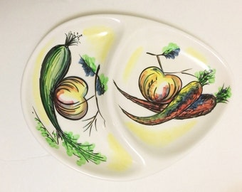 Ucagco Japan Divided Serving Platter