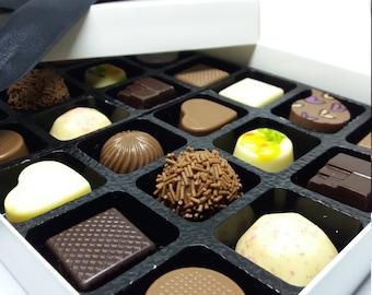 Mixed Box of 24 Chocolate Truffles