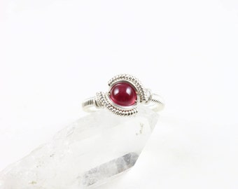 Size 8 Ruby Ring