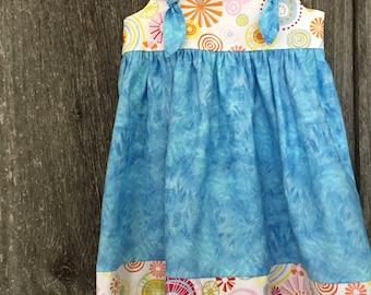 Summer Dress Girls Size 4 Knot Dress