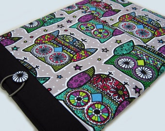 "Dell XPS 15"" Sleeve, 15"" Chromebook Case, 15"" Lenovo Ideapad Thinkpad cover, Acer Aspire, Asus Vivobook, 15"" Laptop case, Owls"