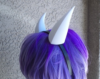"""Goat fantasy 3d printed mini horns Toriel, rpg game Undertale headband any color small 5"""""""