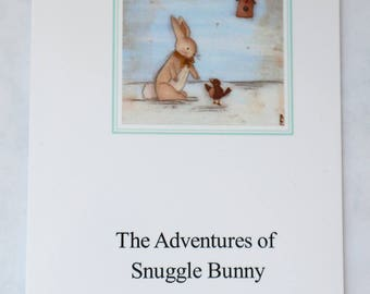 Snuggle Bunny Soft- cover book by Niki Jackson