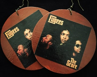 Fugees/The Score album earrings