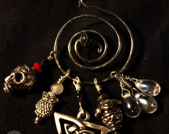 Witch's Charms - Stainless Steel & Charms