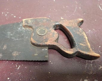 Antique backhand saw
