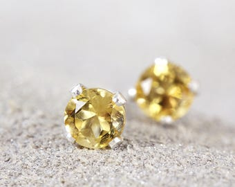 p natural earrings solid with citrine gold earring two stud a htm bee or citrines carat