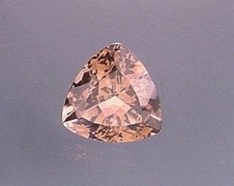 8mm trilliant trillion smoky quartz gem stone gemstone