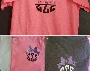 Tri Sigma t-shirts!