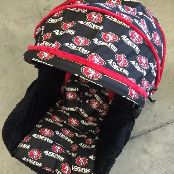 San Francisco 49ers Infant Car Seat Replacement Cover