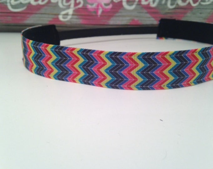 Nonslip Headband Extreme Chevron
