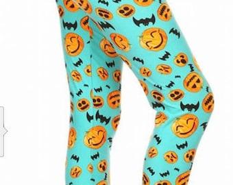 Teal Pumpkins Leggings