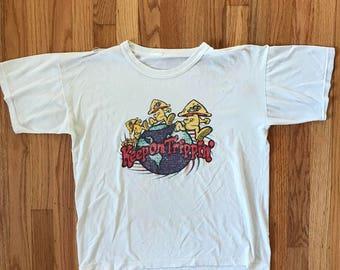 70's Keep on Tripping T shirt R Crumb Mens Medium
