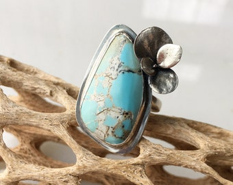 The Earth Child Turquoise Ring