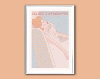 Movie poster Marie Antoinette retro print in various sizes