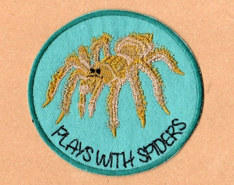 Plays With Spiders Patch