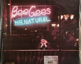 Bee Gees Mr Natural Orig Inner Sleeve Contemporary Pop Soft Rock LP RSO Records SO-4800 Barry Gibb Maurice Gibb Robin Gibb Colin Petersen