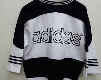 Vintage Adidas Big Logo trefoil embroidery T-Shirts jersey Hip Hop swag/chest: 24 inch