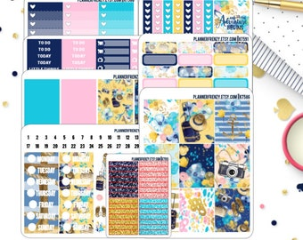 Escape Collection Deluxe or Full Kit Planner Stickers! KT586-591, KT592-593