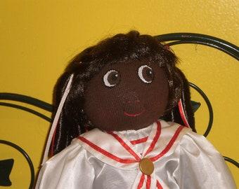 sock doll Little Suzie  soft doll rag doll