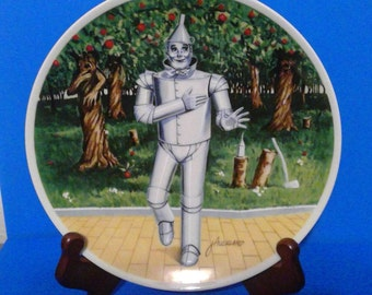 """Knowles 1978 """"If I Only Had a Heart"""" collector Plate Wizard of Oz"""