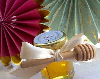Honey, Wedding Favors, Honey Jar Wedding Favors, Carolina Honey Favors, Set of 25