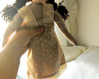waldorf doll - inspired doll Emma, 22inch, 55cm, soft doll, natural doll, toddler, bamboletta, toddler gift