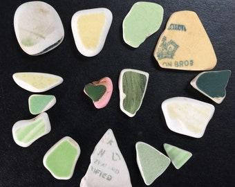 Sea Pottery | includes stone heart