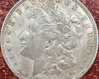 1921 Morgan Silver Dollar Coin -M171-