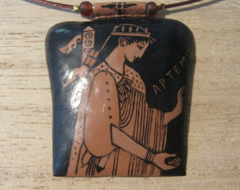 Artemis Enamel Necklace