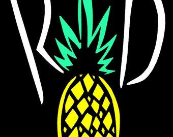 R A D pineapple