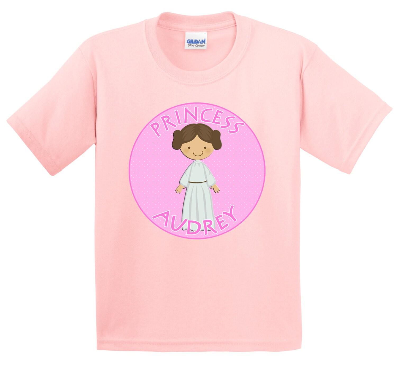 Personalized Girls Galaxy Princess T Shirt Lots Of Colors