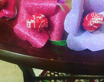Spring or Valentines flower treats
