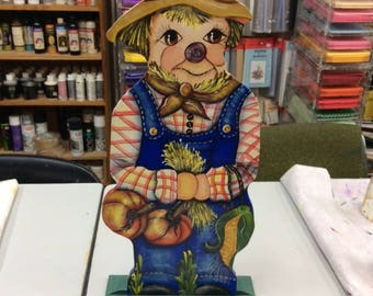 Large Standing Scarecrow