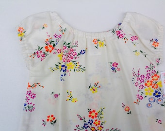 Vintage Fabric Smock Top - Size 1 (1T)