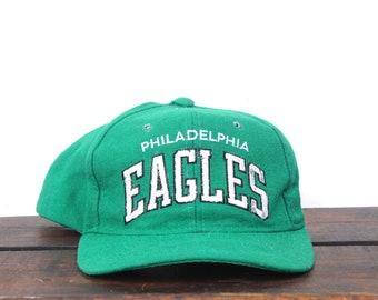Vintage Snapback Hat Baseball Cap Starter Arch Philadelphia Philly Eagles NFL Football