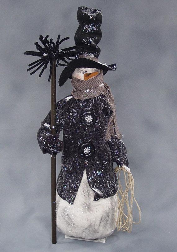 "Pattern: Chadwick - 26"" Snowman"