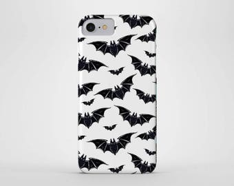 Bats Phone Case - iPhone & Samsung Galaxy Cases - Bat, Goth, Punk, Rock, Vampire, Horror, bat pop art