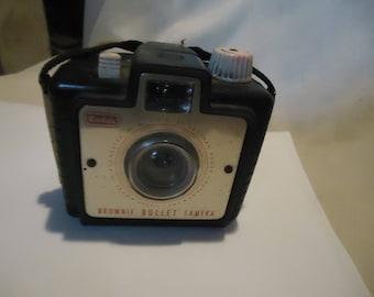 Vintage Kodak Brownie Bullet Camera, collectable