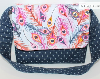 Kid's Mini Messenger Bag / Messenger Bag / Kids Bag / Toy Bag