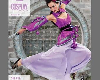 Kimono Cosplay Brans M2107 Mc Call's She Cut costume sewing pattern