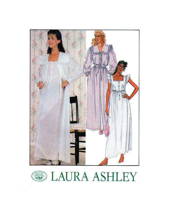 LAURA ASHLEY, McCalls 9437, Frauen, Nachtwäsche, Schnittmuster ...