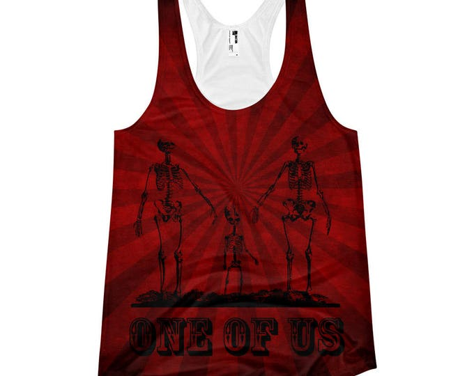 One Of Us Striped Tank Top- Limited