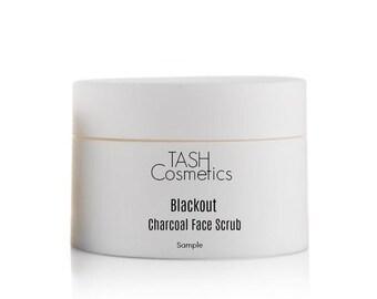 Blackout Charcoal Face Scrub-Sample