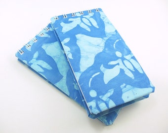 Blank Notebook, Teacher Notepad, Small Spiral Bound Notebook, To Do Notepad, to do list, daily to do, fabric cover