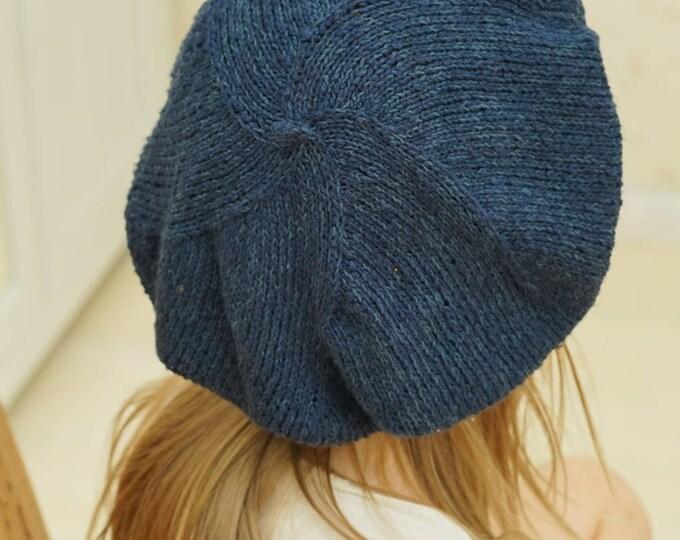 KNITTING PATTERN beret Dora (toddler/child/adult size)