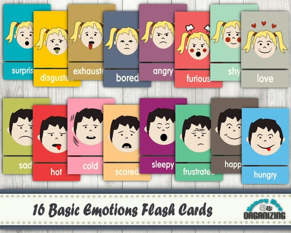 Crush image throughout emotion flashcards printable